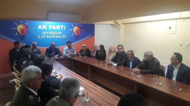 Seydişehir AK Parti'de görev bölümü yapıldı