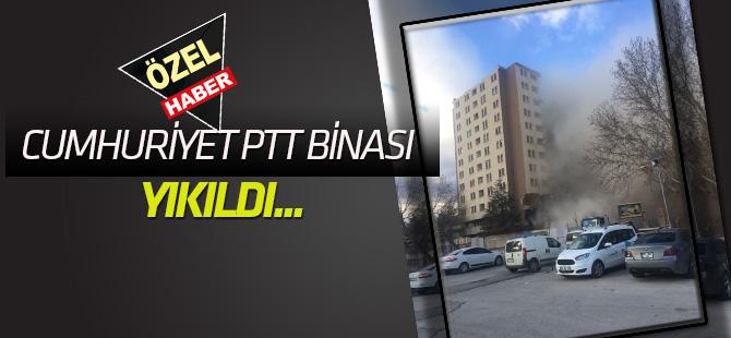 Konya'ya yeni PTT binası