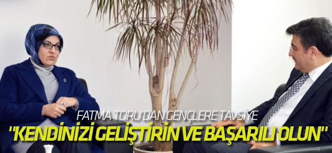 """Fatma Toru: """"Toplumla İç İçe Olmak Yerel Yönetimlerde Başarıyı Getiriyor"""""""