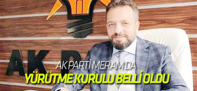 AK Parti Meram'da yürütme kurulu belli oldu