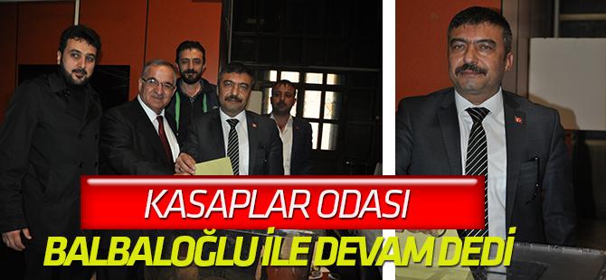 Kasaplar Odası'nda Balbaloğlu yeniden başkan
