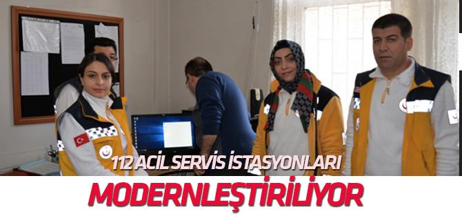 112 Acil Servis İstasyonları modern hale getirilecek