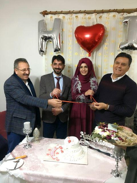 Hatice ile İbrahim nişanlandı