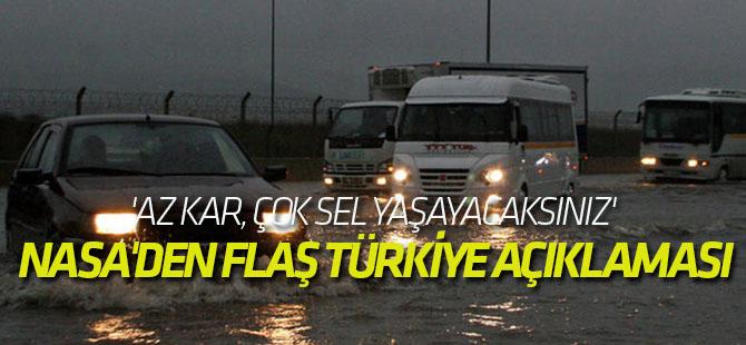 NASA'den flaş Türkiye açıklaması