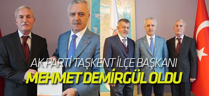 AK Parti Taşkent İlçe Başkanı belli oldu