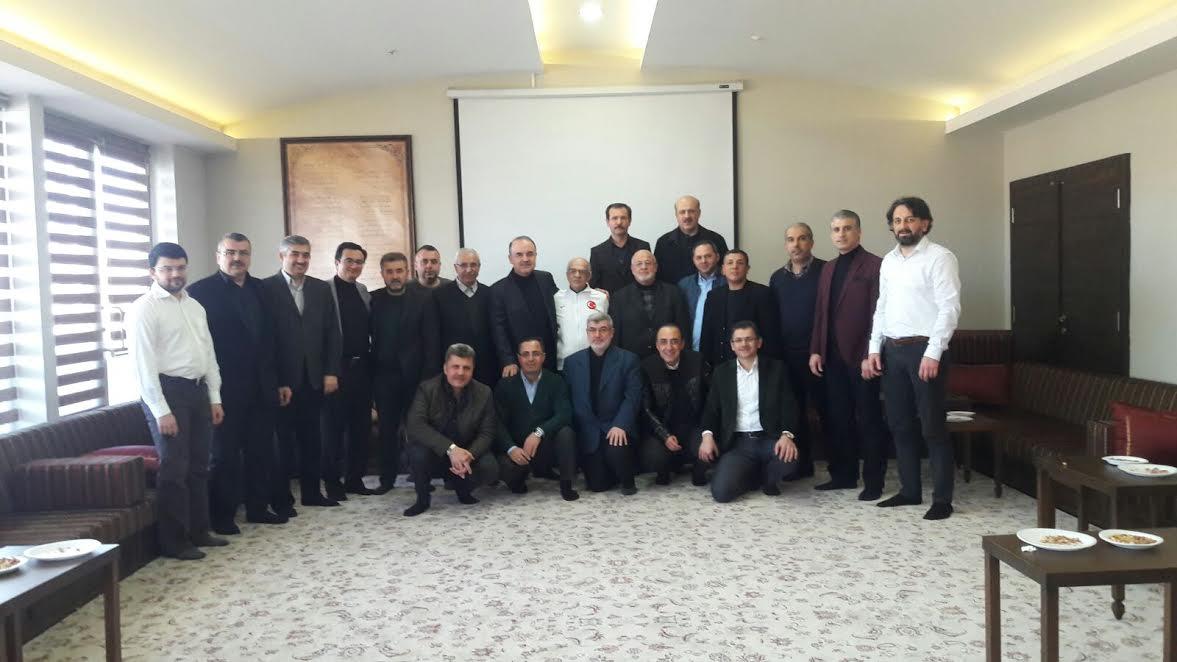 Muammer Erol'dan Konya ziyareti