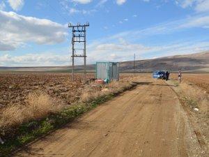 Yunak'ta elektrik trafosundan hırsızlık