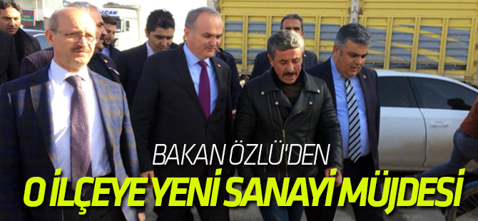 Bakan Özlü'den Ereğli'ye Yeni Sanayi Müjdesi