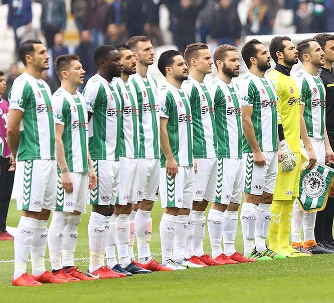 Konyaspor kadro değerinde 8. sıraya yükseldi