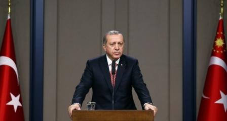 Erdoğan, şehit babası ile görüştü