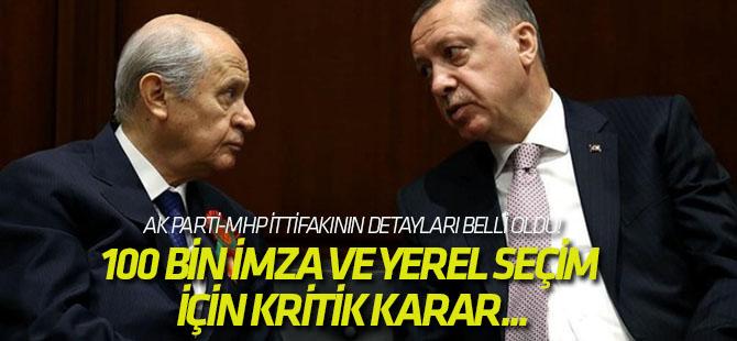 AK Parti-MHP ittifakının detayları belli oldu!
