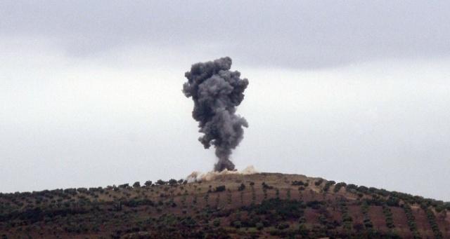 YPG/PKK'dan Afrin'e topçu saldırısı