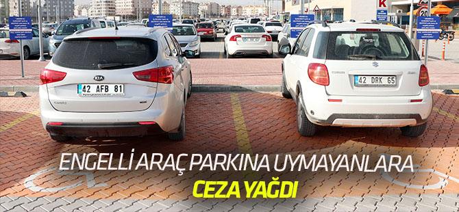 Engelli araç park yerlerine kameralı takip