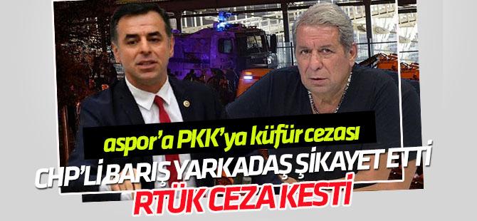 "RTÜK, A Spor'a  ""PKK'ya küfür"" cezası kesti"