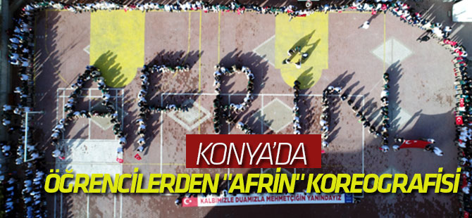 """Öğrencilerden """"Afrin"""" Koreografisi"""