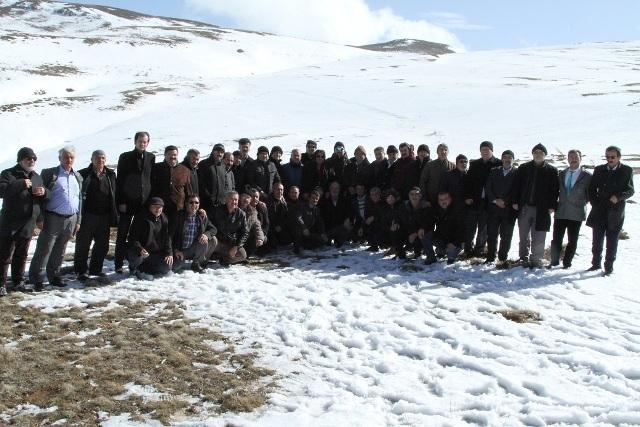 Konyalı Muhtarlar Aladağ'a Tırmandı