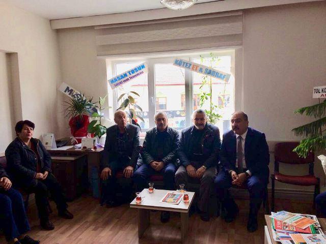 CHP Seydişehir Teşkilatından AK Parti'ye ziyaret