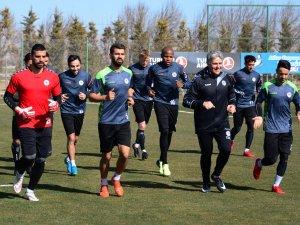 Atiker Konyaspor, Beşiktaş maçı hazırlıklarına başladı