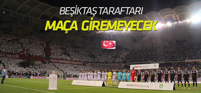Konyaspor-Beşiktaş maçına konuk ekip taraftarı alınmayacak