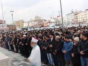 Osman Bağcı için giyabi cenaze namazı kılındı
