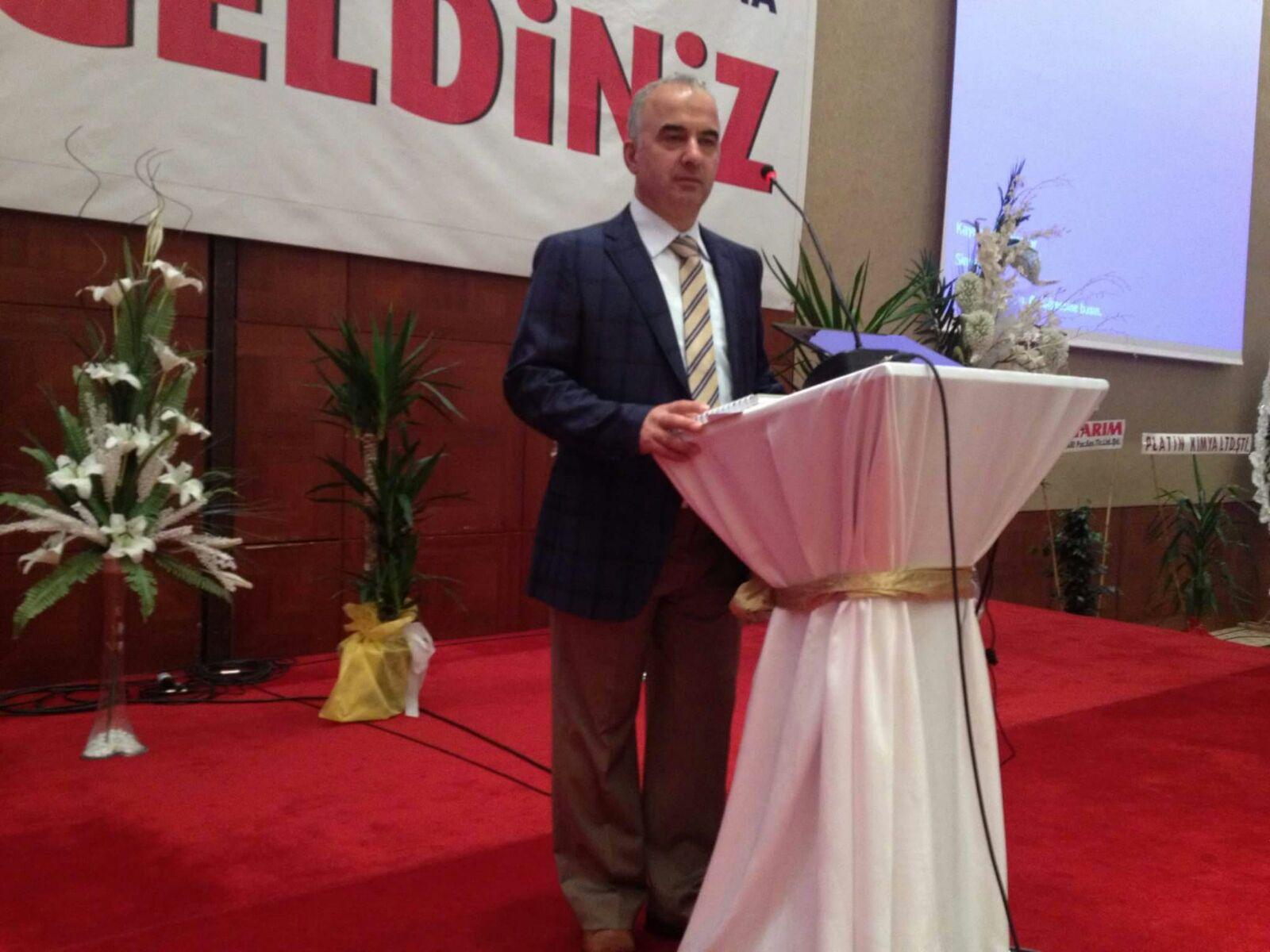Ömer Satin, Veteriner Sağlık Teknisyenleri Derneği Başkanı oldu.