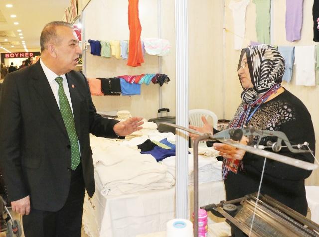 """Karamercan: """"Kadın esnaf sayısındaki artış sevindirici"""""""