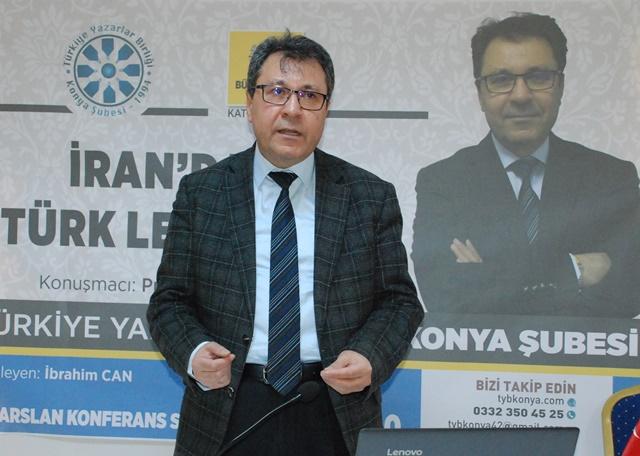 """TYB'de """"İran'da Türk Lehçeleri"""" konuşuldu"""