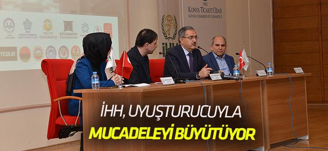 """Konya'da """"Uyuşturucu ile Mücadele"""" Konferansı"""