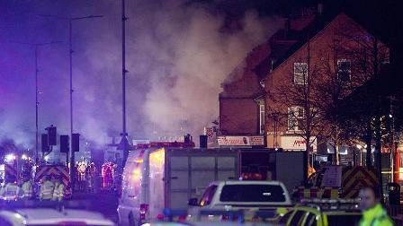 İngiltere'deki patlamada 4 kişi hayatını kaybetti