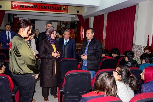 Başkan Toru, Fen Lisesi öğrencileriyle buluştu