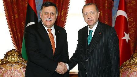 Cumhurbaşkanı Erdoğan Serrac'ı kabul etti