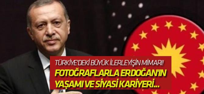 Cumhurbaşkanı Recep Tayyip Erdoğan'ın yaşamı ve siyasi kariyeri...
