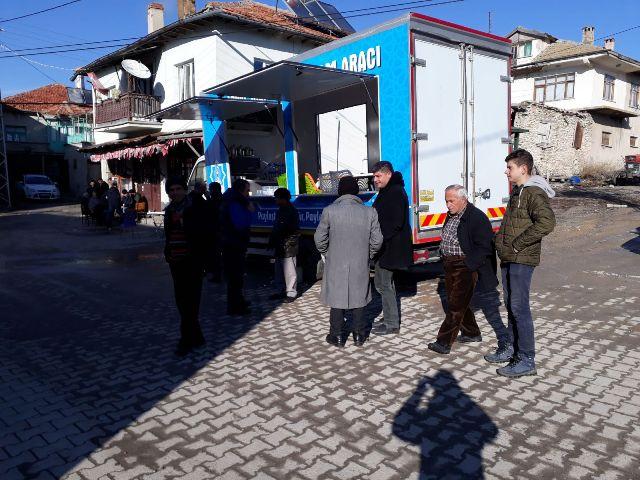 Beyşehir Belediyesi sosyal hizmet ve ikram aracı hizmette