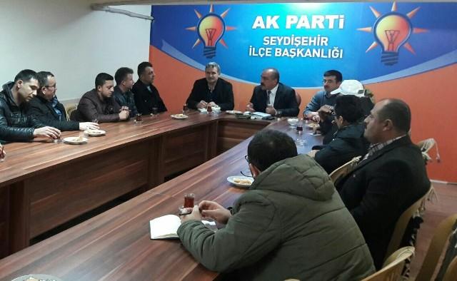 Seydişehir AK Parti'den mahalle başkanları toplantısı