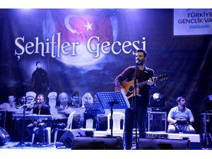 """Eskişehir'de """"Şehitler Gecesi"""" etkinliği"""