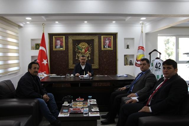 Başkan Tutal,yamaç paraşütü çalışmalarını hızlandırdı
