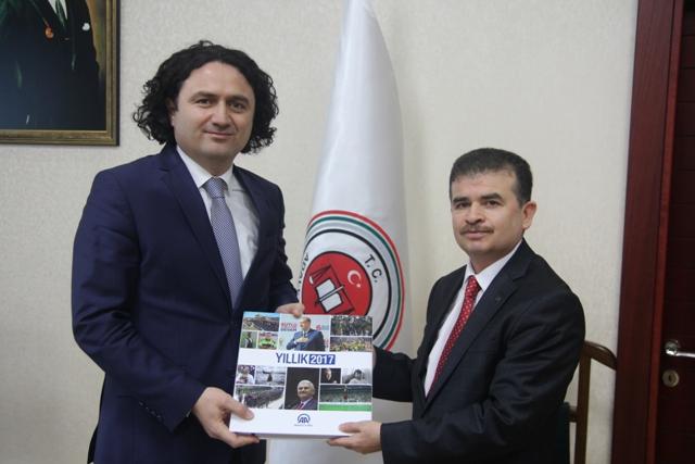Konya Cumhuriyet Başsavcısı Tezcan'a ziyaret