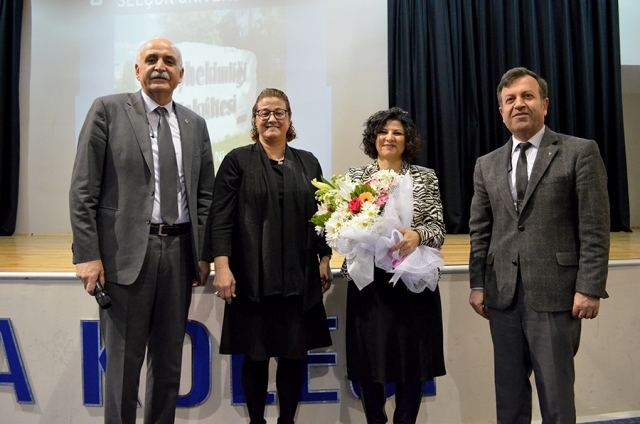 TED Konya Koleji Kariyer Günlerinde Konuk Prof. Dr. Nimet Ünlü oldu