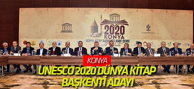 Konya, UNESCO 2020 Dünya Kitap Başkenti Aday Şehri
