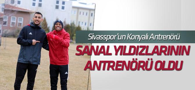 Sivasspor'un Konyalı antrenörü Selçuk Erdoğan, sanal yıldızların antrenörü oldu