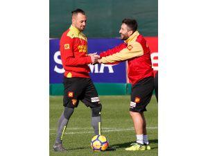 Göztepe'de Başakşehir maçı hazırlıkları