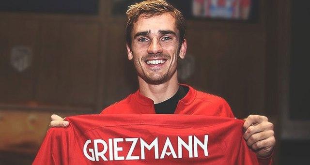 Griezmann 100'ler kulübüne katıldı