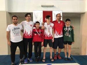 Konyalı görme engelli yüzücülerden 8 madalya
