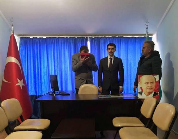 Seydişehir Ülkü Ocakları'nda Bayrak Değişimi