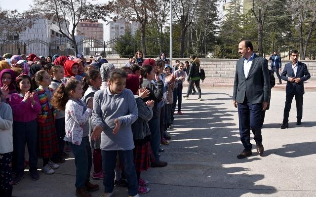Başkan Altay'dan öğrencilere nasihat