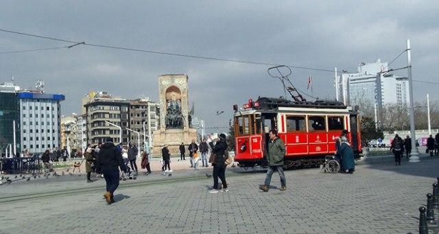 İstanbul'da güneş açtı