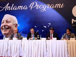 Konya'da Erbakan'ı anma programı