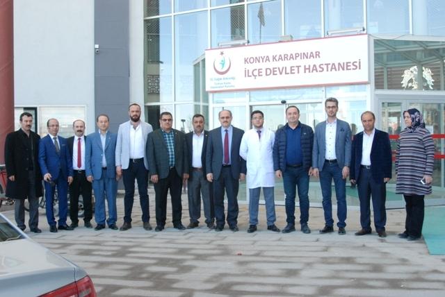 Karapınar Devlet Hastanesi'ne bağış