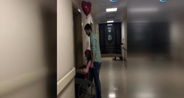 Herkesin aşkını konuştuğu adam kanserli eşini döverek hastanelik etti