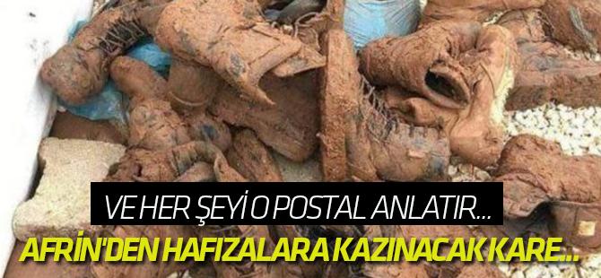 Afrin'den hafızalara kazınacak kare...